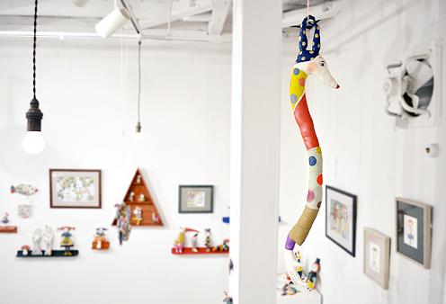 「LINE & COLOR」始まりました / Ryoko Ishii Exhibition_d0193211_23265434.jpg