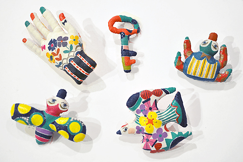 「LINE & COLOR」始まりました / Ryoko Ishii Exhibition_d0193211_23451052.jpg