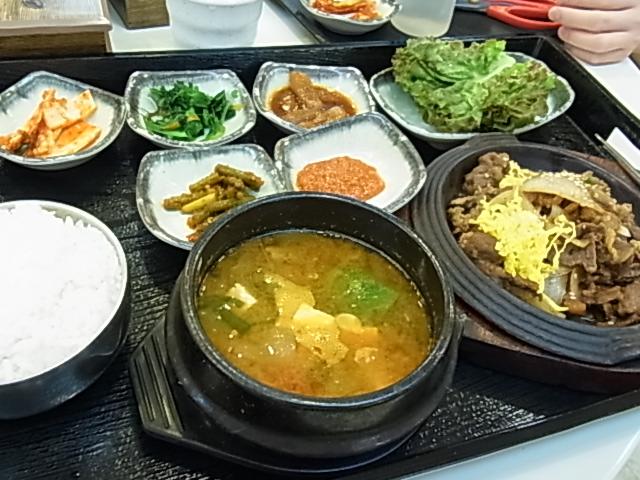 5日目 帰国 釜山空港 レストラン _e0141982_1532916.jpg