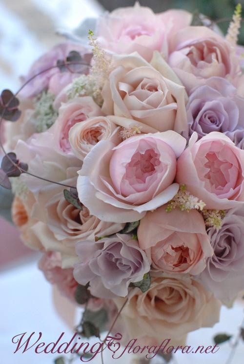 ニュアンスカラーのバラ達とハートカズラのセミキャスケードブーケ to FISH BANK TOKYO様_a0115684_23572790.jpg