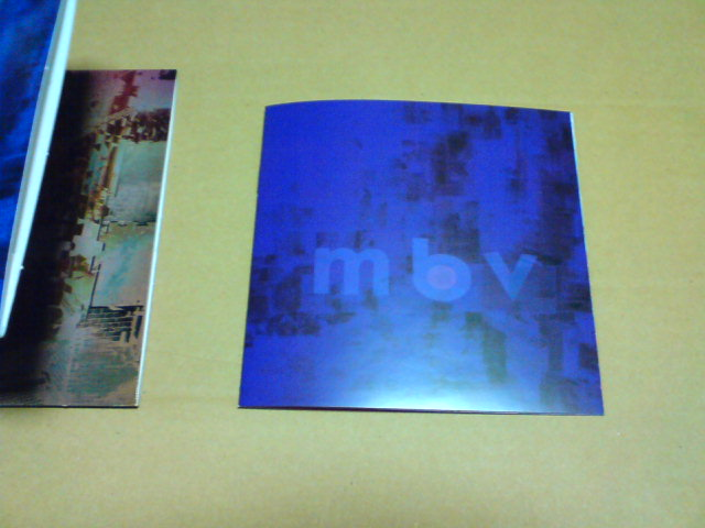 へどつぶ更新!&本日到着CD  〜 mbv / My Bloody Valentine_c0104445_216986.jpg