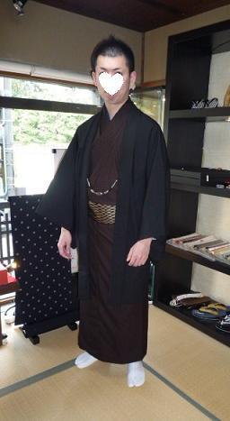 背の高い男性の着物の着付け・助っ人現る。_f0181251_18435161.jpg