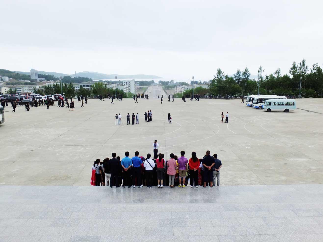 羅先(北朝鮮)で見かけた中国人観光客たち_b0235153_23484422.jpg
