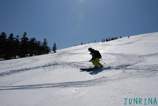 スキーの先生をガイドするのは緊張しました_d0110562_22102850.jpg