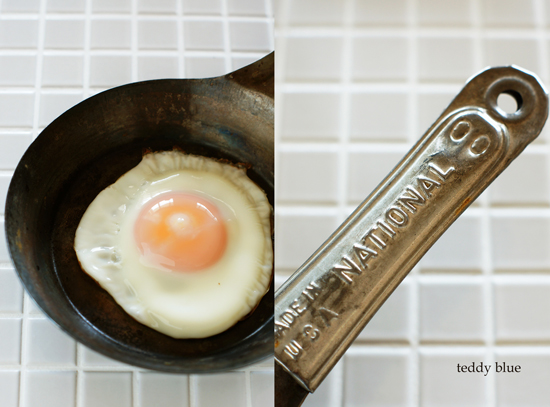vintage frying pan  ヴィンテージの鉄のフライパン_e0253364_22315048.jpg