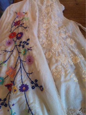 ✾フラワー刺繍の羽織りブラウス✾_b0144069_11182980.jpg