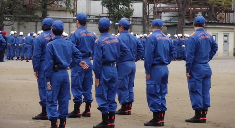 小平市消防団規律・救助訓練_f0059673_20344558.jpg