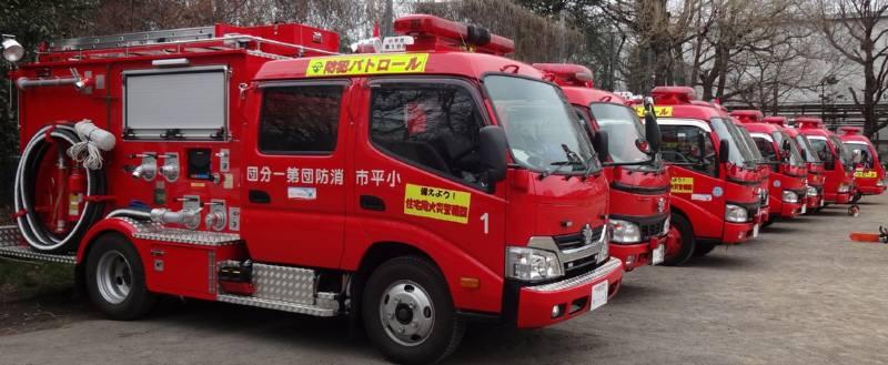 小平市消防団規律・救助訓練_f0059673_20402870.jpg