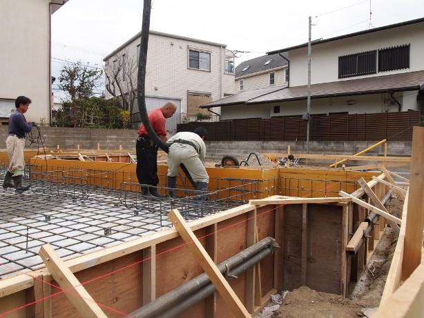 鎌倉の現場☆配筋検査終了しました_c0152341_823485.jpg