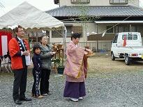 地鎮祭、着工式     T様邸_d0172085_16321265.jpg