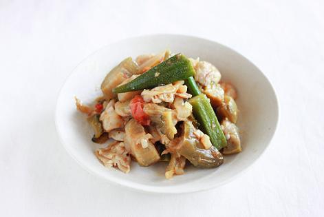 DMM英会話Ann先生と勉強したフィリピン料理「Pinakbet」を作ってみました♪_a0154192_16261536.jpg