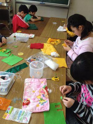 長尾教室〜縫いもの  ぞうきん_f0215199_1134546.jpg