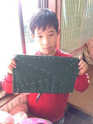 長尾教室〜縫いもの  ぞうきん_f0215199_1135380.jpg