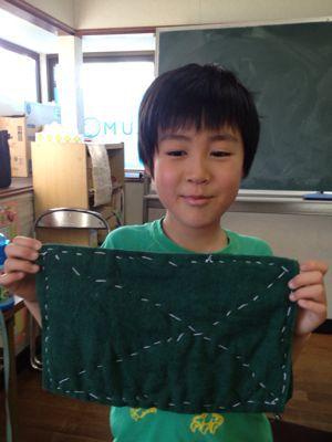 長尾教室〜縫いもの  ぞうきん_f0215199_1135456.jpg