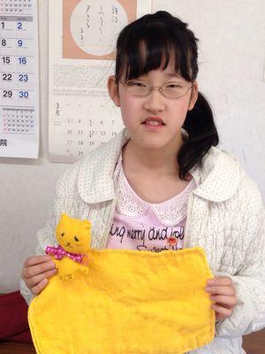 長尾教室〜縫いもの  ぞうきん_f0215199_114073.jpg