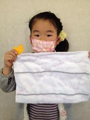 長尾教室〜縫いもの  ぞうきん_f0215199_114289.jpg