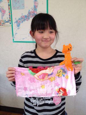 長尾教室〜縫いもの  ぞうきん_f0215199_114310.jpg