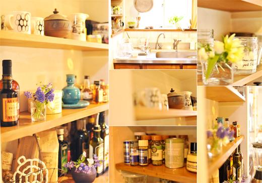 キッチンも、春仕様。_d0174704_21382997.jpg