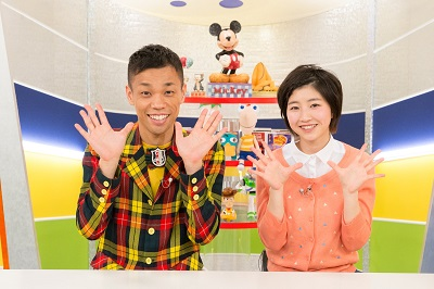 「ディズニー365」 新MC にCOWCOW多田健二さんを迎えリニューアル!_e0025035_1626399.jpg