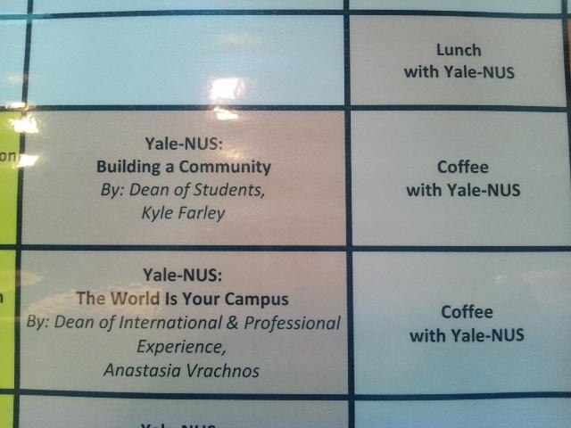 シンガポール国立大学 Yale-NUS College_f0138645_10542248.jpg