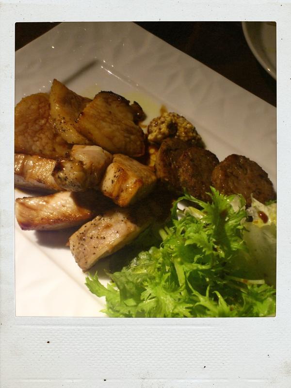 今度はレアな南インドカレーを居酒屋さんで食べる@円相玉宮_b0065587_13322449.jpg