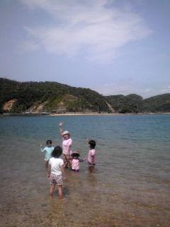 海開きで潮干狩り_e0220493_13334734.jpg