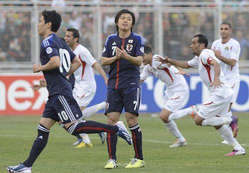 日本、ヨルダンに完敗、本田圭佑の呪いか?:「香川は持っていなかった!?」_e0171614_10491134.jpg