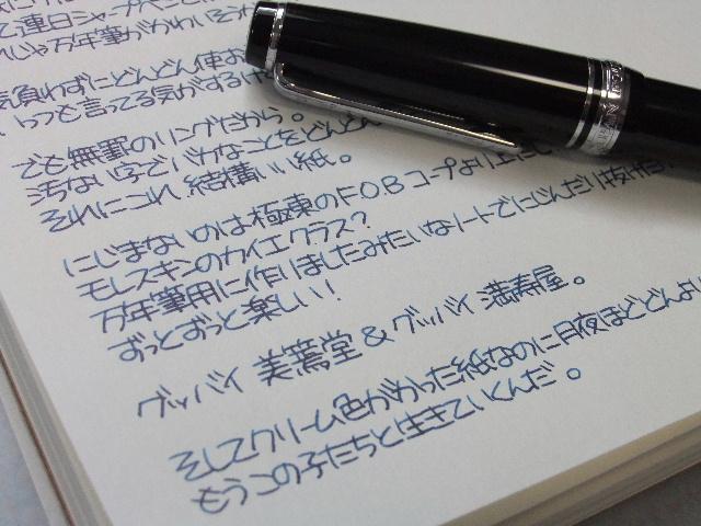 ついにダイソーのノートに手を出す。_f0220714_215316.jpg