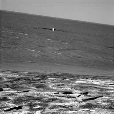 『火星にたたずむ光る物体 !?!』/ Mars Rover Mission_b0003330_1224547.jpg