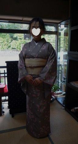 母と法金剛院へ・お客様の桜や蝶の着物姿。_f0181251_20461064.jpg