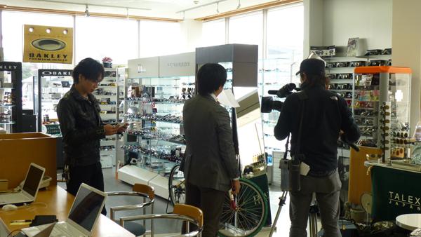 山形県内全域8チャンネルさくらんぼテレビSAY\'S SELECTIONに出演! _c0003493_1331313.jpg