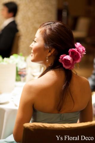 美しい横顔 イブピアッチェの髪飾り_b0113510_22545734.jpg