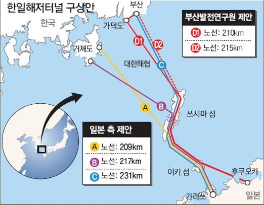韓国、対馬経由の「秘密の軍事用地下トンネル」建造中か!?_e0171614_1124899.jpg