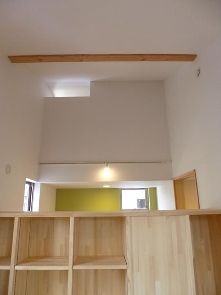 家具で間仕切り2/市川市Kさんの家新築工事_c0004024_18196100.jpg