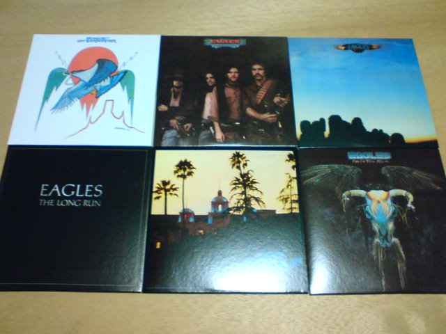 本日到着CD 〜 The Studio Albums 1972-1979 / Eagles_c0104445_22395477.jpg