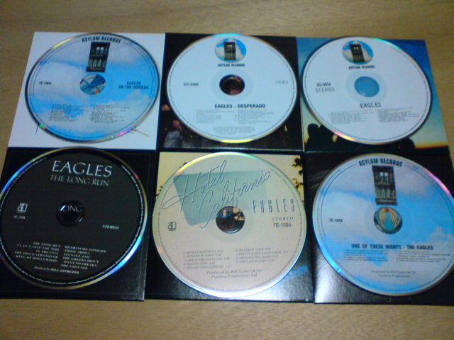 本日到着CD 〜 The Studio Albums 1972-1979 / Eagles_c0104445_22403899.jpg