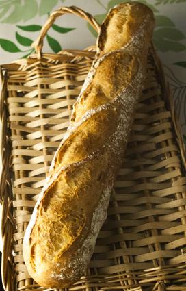 電気オーブンでのフランスパン_a0175348_13351172.jpg