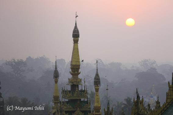 今日の一枚:ヤンゴンの朝_a0086851_19112883.jpg