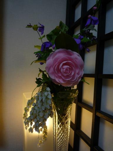 シャンソンライブのお客様・江戸小紋やデニムの着物_f0181251_15573076.jpg