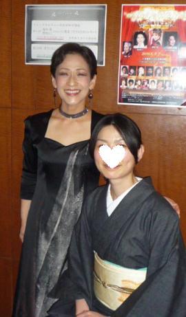 シャンソンライブのお客様・江戸小紋やデニムの着物_f0181251_16111983.jpg