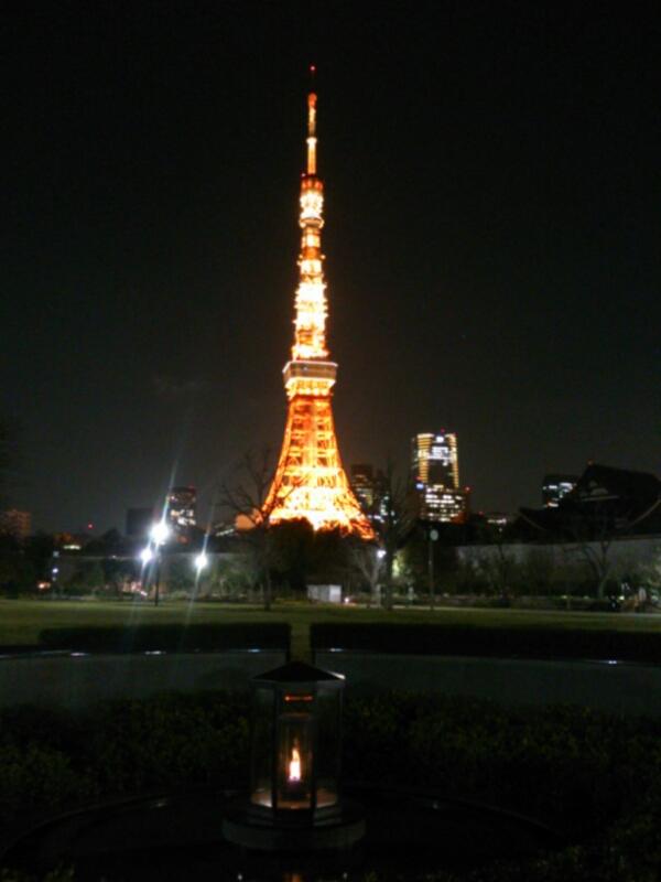 今日の東京タワー♪_c0100865_2024495.jpg