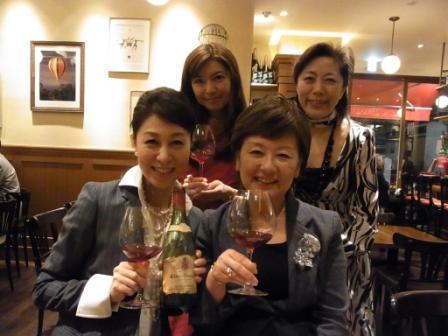 偉大なシャトーの熟成ワインに酔う_a0138976_19375427.jpg