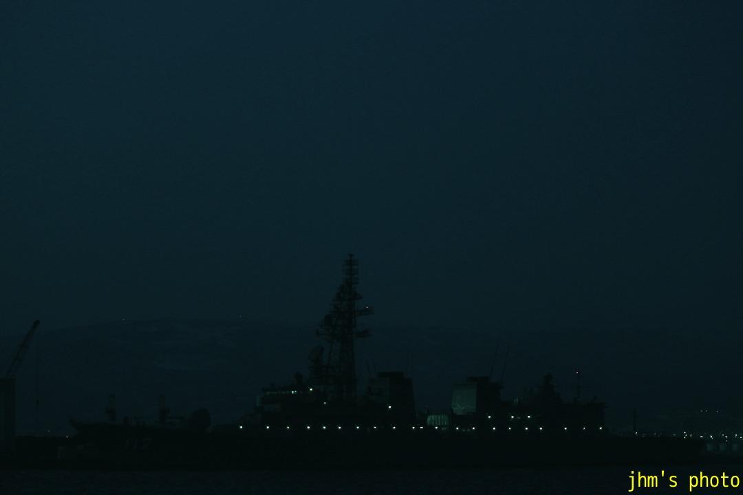 夜に霞む西部地区の夜_a0158797_22433289.jpg