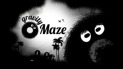 無料セール中!転がしてゴールに運ぶ物理系パズルゲームiPhoneアプリ「Gravity Maze」_d0174998_1544787.jpg