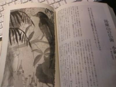 小説すばる 挿絵「錫蘭山の仏歯」 小前亮 _f0172313_6412335.jpg