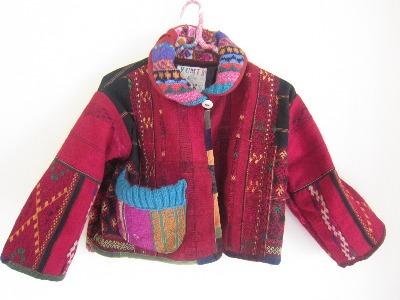 カチン族赤のジャケット。_b0207631_1014427.jpg