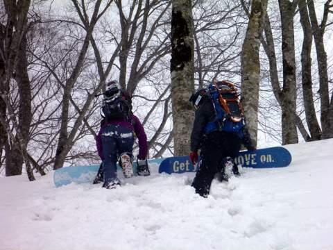 【滑走レポ 2013.3.26】2012/13シーズンのラストパウダーを狙って!@かぐら_e0037849_2312370.jpg