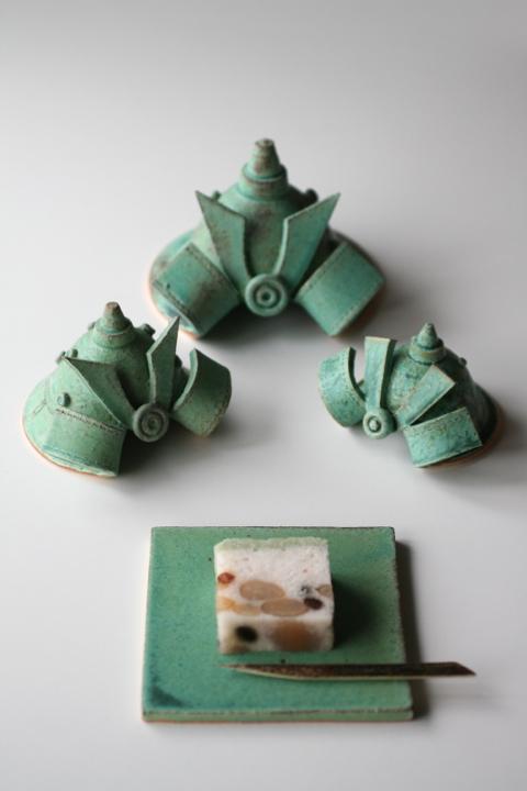福岡光里 SAMURAI KABUTO展@リッツカールトン伝統工芸セレクトショップ祿_d0004651_17432978.jpg