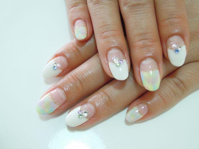 Marble Nail_a0239065_12372244.jpg