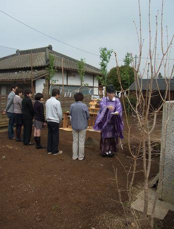 親子二代の家、地鎮祭!_a0059217_20311929.jpg